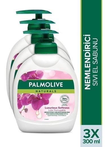 Palmolive Palmolive Naturals Orkide ıpeksi Yumuşaklık Nemlendirici Sıvı El Sabunu 300 ml Renksiz